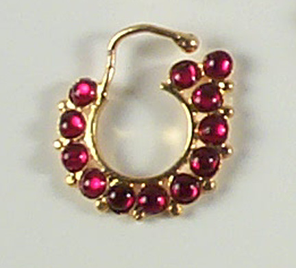 Nose Ring - Original Temple